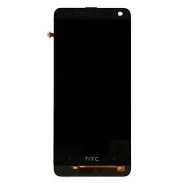 HTC One mini Front Cover & LCD Display Zwart