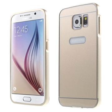 Samsung Galaxy S6 2-in-1 Bumper Cover Champagne