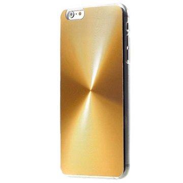 iPhone 6 Plus / 6S Plus Shine Aluminium Cover Goud