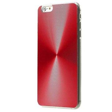 iPhone 6 Plus / 6S Plus Shine Aluminium Cover Rood