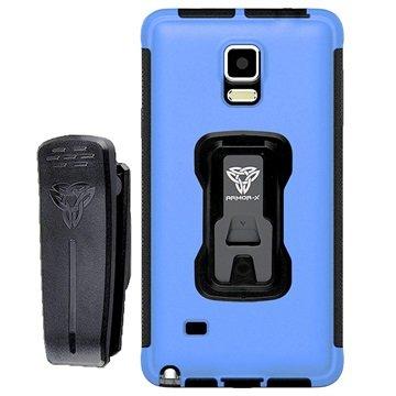 Samsung Galaxy Note 4 Armor-X TX-SS-N4 Rugged X-Mount Cover Blauw