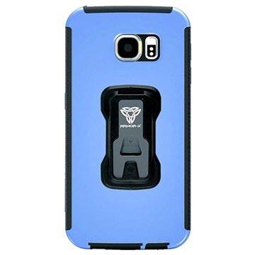 Samsung Galaxy S6 Armor-X TX-SS-S6 Rugged X-Mount Cover Blauw