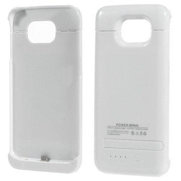 Samsung Galaxy S6 Backup Batterij Case Wit