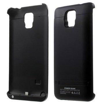 Samsung Galaxy Note 4 Backup Batterij Case Zwart