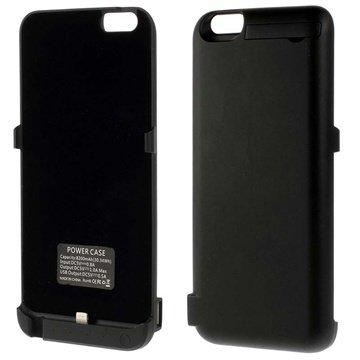 iPhone 6 Plus / 6S Plus Backup Batterij Case Zwart