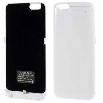 iPhone 6 Plus / 6S Plus Backup Batterij Case Wit