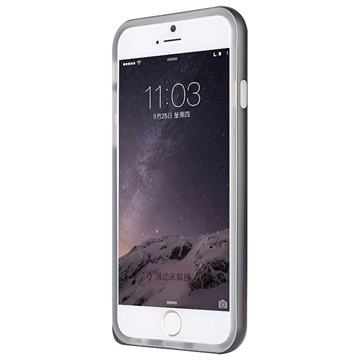iPhone 6 Plus / 6S Plus Baseus Fusion Hybrid Cover Zwart