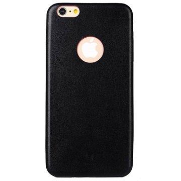 iPhone 6 Plus / 6S Plus Baseus Dunne Case Serie Harde Cover Zwart