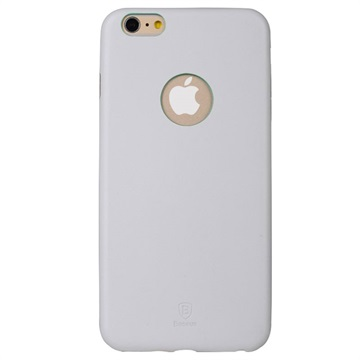 iPhone 6 Plus / 6S Plus Baseus Dunne Case Serie Harde Cover Wit