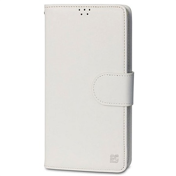 Samsung Galaxy Note 4 Beyond Cell Infolio B Wallet Leren Hoesje Wit