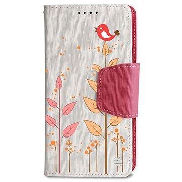 Samsung Galaxy Note 4 Beyond Cell Infolio Design Wallet Leren Hoesje Vogel