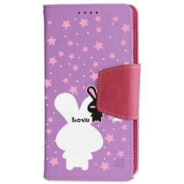 Samsung Galaxy Note 4 Beyond Cell Infolio Design Wallet Leren Hoesje Pure Love