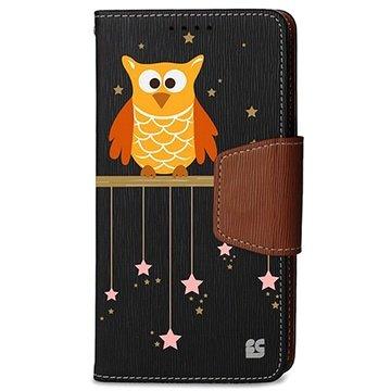 Samsung Galaxy Note 4 Beyond Cell Infolio Design Wallet Leren Hoesje Twinkle Stars