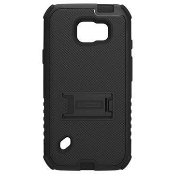 Samsung Galaxy S6 Active Beyond Cell Tri Shield Hybride Cover Zwart