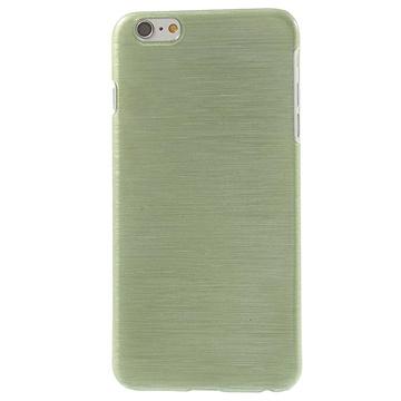 iPhone 6 Plus / 6S Plus Brushed TPU Case Groen