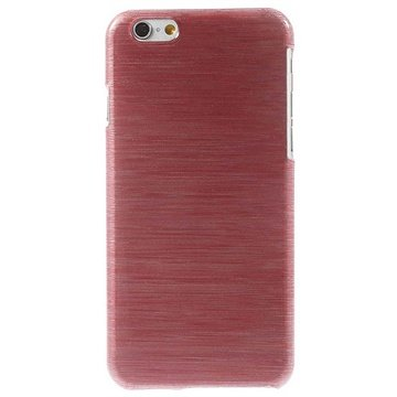 iPhone 6 / 6S Brushed TPU Case Rood