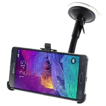 Samsung Galaxy Note 4 Auto Houder Gooseneck