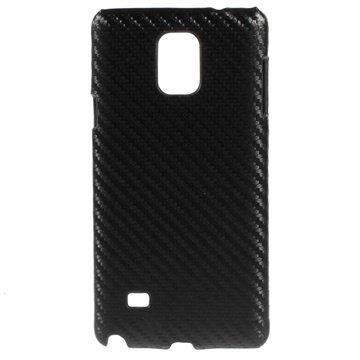 Samsung Galaxy Note 4 Hard Cover Carbon Zwart