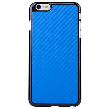 iPhone 6 Plus / 6S Plus Hard Cover Carbon Blauw