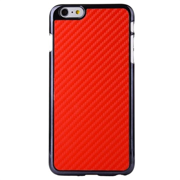 iPhone 6 Plus / 6S Plus Hard Cover Carbon Rood