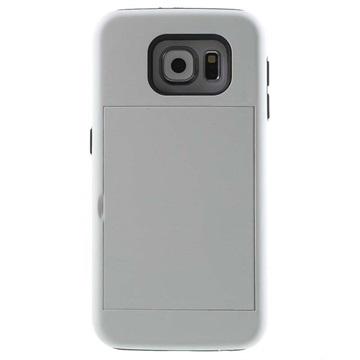 Samsung Galaxy S6 Card Stash Hybrid Cover Wit
