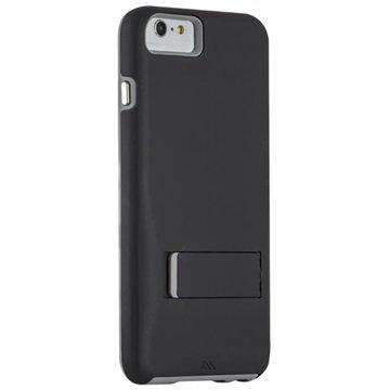 iPhone 6 Plus / 6S Plus Case-Mate Tough Stand Cover Zwart / Grijs