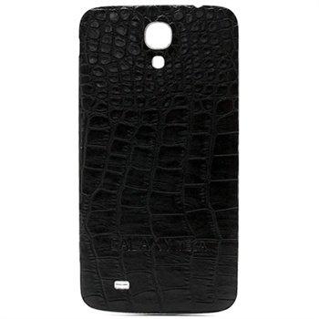 Samsung Galaxy Mega 6.3 I9200 Batterij Cover - Crocodile Zwart