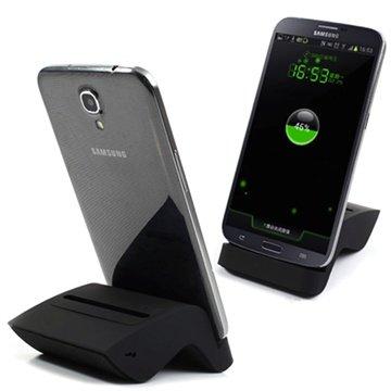 Samsung Galaxy Mega 6.3 I9200 Dual Bureauhouder Zwart