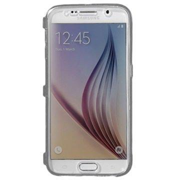 Samsung Galaxy S6 Flip TPU Case Doorzichtig