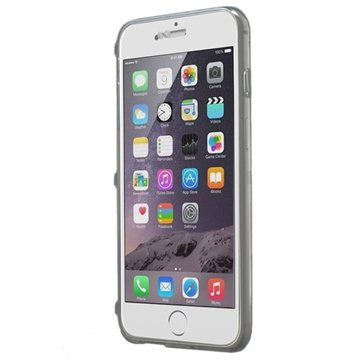 iPhone 6 Plus / 6S Plus Flip TPU Case Doorzichtig