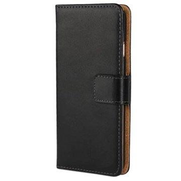 iPhone 6 Plus / 6S Plus Wallet Hoesje Zwart