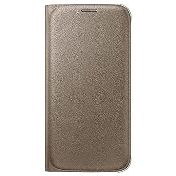 Samsung Galaxy S6 Wallet Hoesje EF-WG920PF- Goud