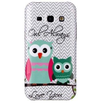 Samsung Galaxy J5 Glossy TPU Case Owl Always Love You