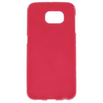 Samsung Galaxy S6 Glossy TPU Case Hot Pink