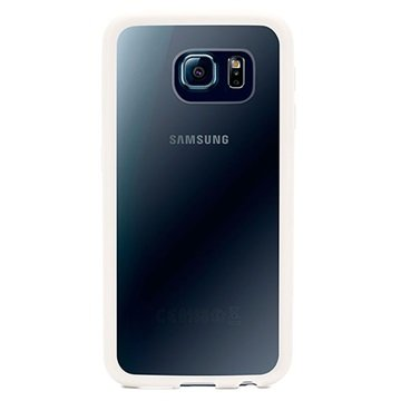 Samsung Galaxy S6 Griffin Reveal Cover Wit / Transparant