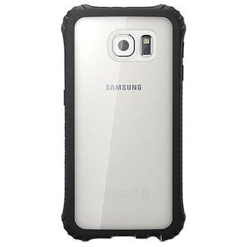Samsung Galaxy S6 Griffin Survivor Core Cover Zwart / Doorzichtig