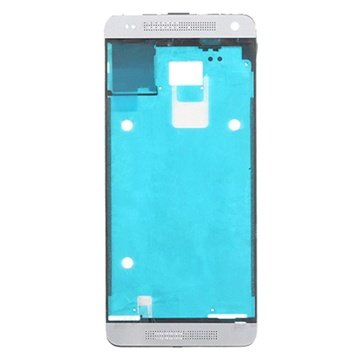 HTC One mini Front Cover Zilver
