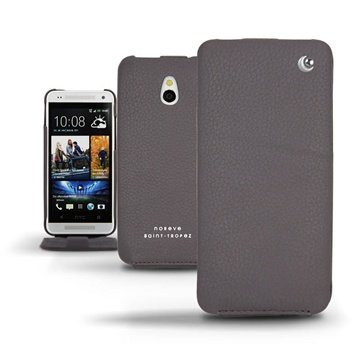 HTC One mini Noreve Tradition Flip Leren Case Anthracite