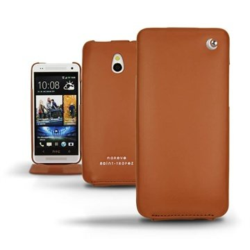 HTC One mini Noreve Tradition Flip Leren Case Brown