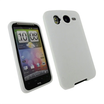 HTC Desire HD iGadgitz Siliconen Case Wit