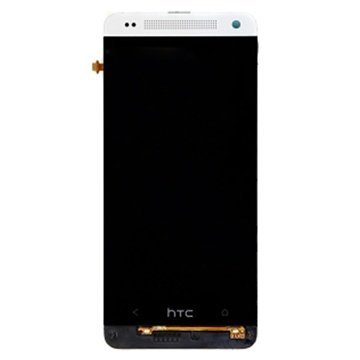 HTC One mini Front Cover & LCD Display Zilver