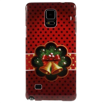 Samsung Galaxy Note 4 Hard Cover Christmas Bells