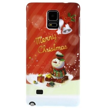 Samsung Galaxy Note 4 Hard Cover Merry Christmas