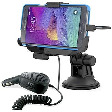 Samsung Galaxy Note 4 KiDiGi Autohouder Set Zwart