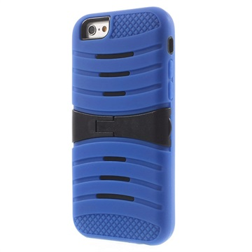 iPhone 6 / 6S Kickstand Hybride Cover Donkerblauw