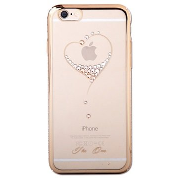 iPhone 6 Plus / 6S Plus Kingxbar Swarovski Crystal Hard Cover Hart