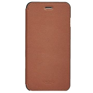 iPhone 6 Plus Knomo Folio Leren Tas Scotch