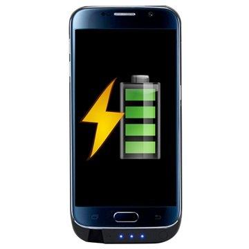 Samsung Galaxy S6 Ksix PowerCase+ Backup Batterij Case Zwart