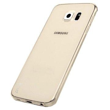 Samsung Galaxy S6 Lenuo Lotto Series TPU Case Bruin