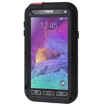 Samsung Galaxy Note 4 Love Mei Powerful Hybride Cover Zwart